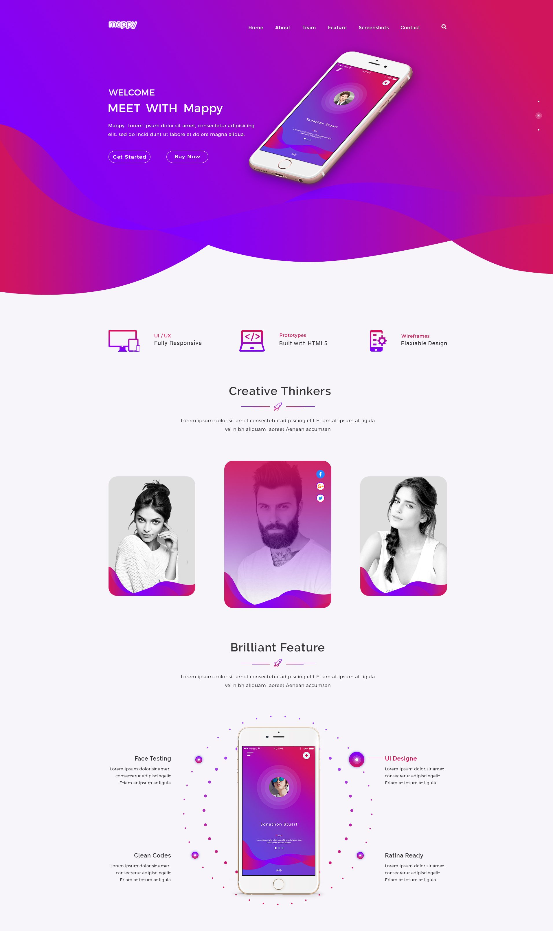 organic shapes in web design